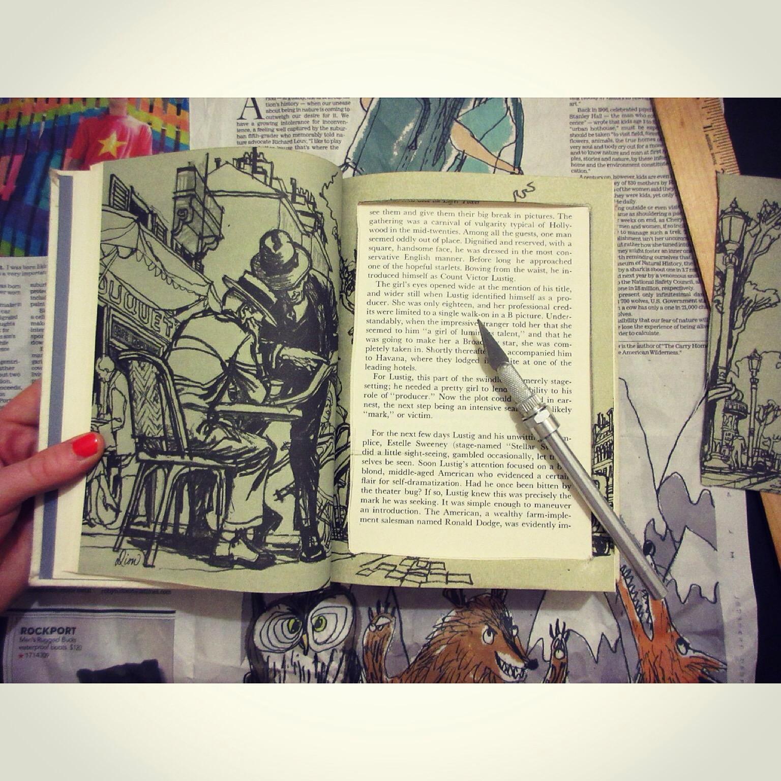 DIY: Repurposed Booksafe - Sustainable Daisy